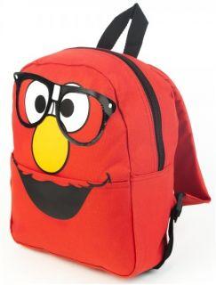 World Muppets Boys Girls Red Mini Backpack Bookbag Carry Bag