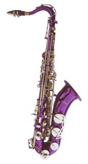 New Purple Tenor Saxophone Sax Quality Warranty