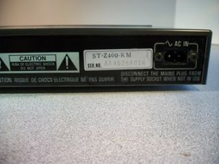 Vintage Technics FM Am Stereo Tuner STZ400 Plus Technics Amplifier