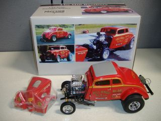 Precision Miniatures 33 willys Gasser, Hill Bros. RED BARON PRM09