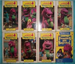 BARNEY & FRIENDS Time Life vhs Doctor Barney is Here,Playing it Safe
