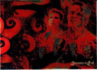 2004 Buffy The Vampire Slayer Big Bads TV Seasons of Evil Insert SE 2