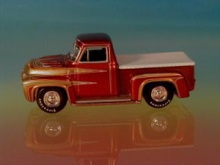 Hot 54 Ford F100 Pickup George Barris Kustom Wild Kat Limited Edition
