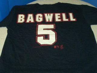 Jeff Bagwell 5 Houston Astros Jersey T Shirt Yth 10 12