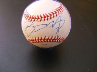 Barry Zito San Francisco Giants signed Rawlings Minor League Baseball