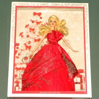 2012 Holiday Barbie Collector Doll Mattel BNIB New