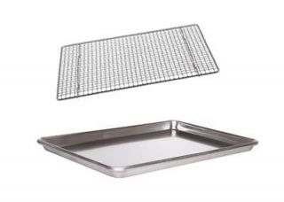 Jelly Roll Pan 18 x13 Cookie Sheet Wire Cooling Rack