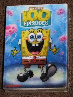 NEW Spongebob Squarepants The First 100 Episodes DVD Box Set Seasons 1