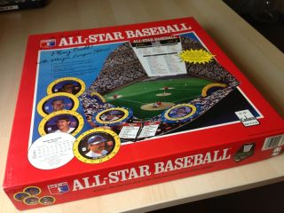 1989 MLB All Star Baseball Board Game 283 by Cadaco