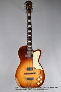 Kay 1954 Vintage Barney Kessel Pro Electric Guitar