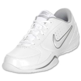Nike Air Court Leader Low Mens Basketball Shoes Size 11 White Gray $60