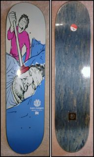 BAM MARGERA No Series Element Skateboard Deck CKY phil kat von d RARE