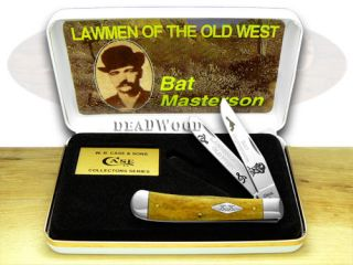 Case XX Bat Masterson 1 500 Antique Bone Trapper Knife