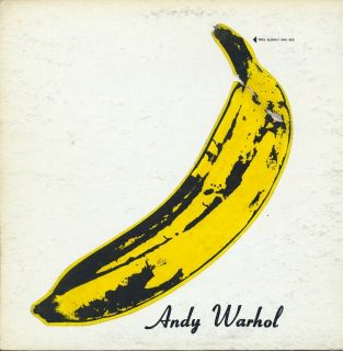 Velvet Underground Nico Andy Warhol Peelable Banana Cover Verve