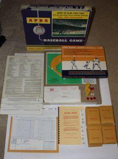APBA BASEBALL BOARD GAME AND CARD SET   VERY NICE YANKEES PHILLIES MLB
