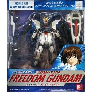Bandai Gundam Seed Mobile Suit In Action Figure Series MSIA Freedom