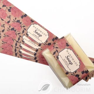 20pcs Vintage Rose Label For Soap,Baking,Candle, Multi Purpose Gift