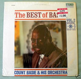 THE BEST OF COUNT BASIE VOL 2 ROULETTE TRACKS LP EXC