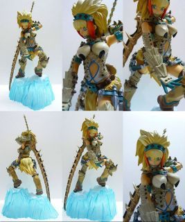 Banpresto Monster Hunter DX PVC Girl Figure Fencer Warrior
