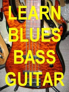 Learn to Play Blues Bass Guitar DVD Great Video Lessons