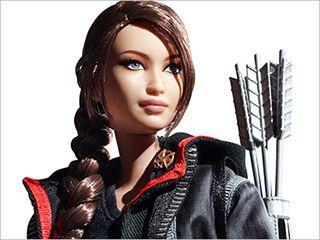 Barbie Hunger Games Katniss Everdeen Doll Jennifer Lawrence Figure New