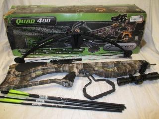 AS is Barnett 78071 outdoor sport hunting Quad 400 Compound Crossbow