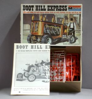 Monogram Model Kit Boot Hill Express 6735 1 24 Scale