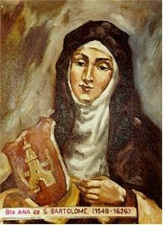 Anne of Saint Bartholomew by Spanish Carmelite Rafael Lopez Melus