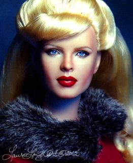 Doll Repaint Inspired by Kim Basinger OOAK by Laurie Leigh