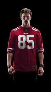 NFL San Francisco 49ers (Vernon Davis) Mens Football Home