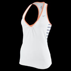 Nike Striped Rib Womens Running Tank Top