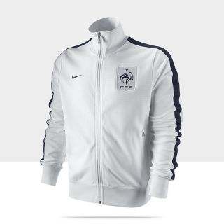 French Football Federation Authentic N98 Mens Soccer Track Jacket