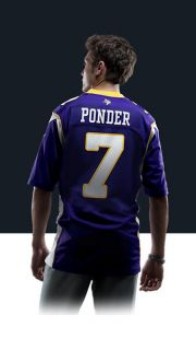 NFL Minnesota Vikings (Christian Ponder) Mens Football