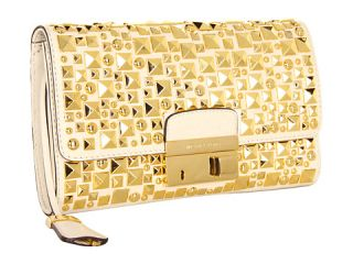 michael kors gia studded clutch with lock $ 795 00