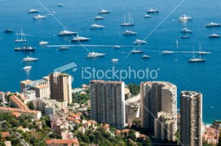 stock photo 22079180 view of monaco
