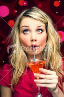 Femmes, Cocktail, Boire, Humour, Ivre  Stock Photo  iStock FR