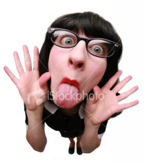 Tirer la langue, Femmes, Humour, Langue, Visage  Stock Photo  iStock
