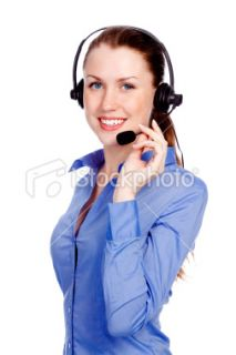 stock photo 18766015 support phone operator in headset