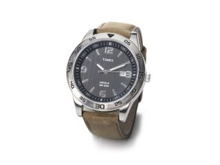 Elevated Classics Dress Sport Collection Leather Strap Watch, model