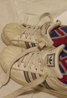 Adidas Trainers/UK 4/White/Superstar/shell toes  afrodizzyac