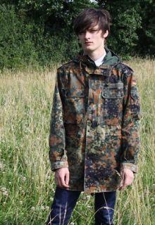 Vintage Camouflage Field Parka  headlock vintage   Marketplace