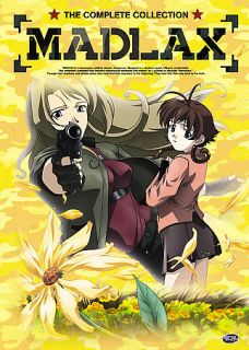 Madlax   The Complete Collection DVD, 2007, 5 Disc Set, Thinpak