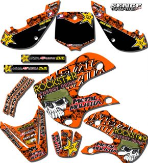 2009 2010 2011 SX 50 GRAPHICS KIT KTM SX50 50SX DECALS DECO DECALS
