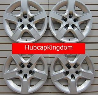 NEW 2008 2010 Chevy MALIBU Hubcap Wheelcover SET Silver (Fits