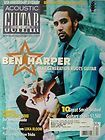 GUITAR PLAYER Magazine JULY 2009 BEN HARPER J MOZERSKY