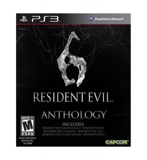 Resident Evil 6 Anthology Sony Playstation 3, 2012