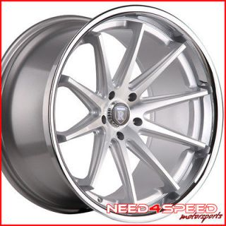 ROHANA RC10 CONCAVE SILVER STAGGERED WHEELS RIMS (Fits 2010 Acura TL