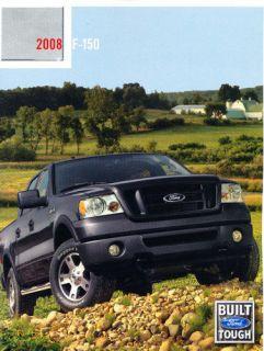 2008 Ford F 150 Truck Harley Davidson Sales Brochure Catalog
