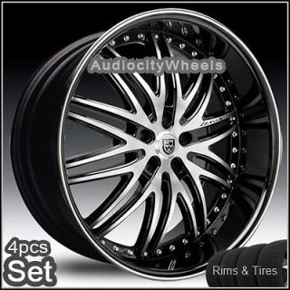 26 inch Wheels and Tires for Land Range Rover, FX35 Rims