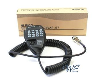 NEW Alinco EMS 57 8pin DTMF Hand Mic for HF/Mobile DX SR8T DX SR8E DX